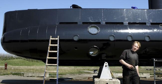 Swedish journalist's torso found in submarine death mystery