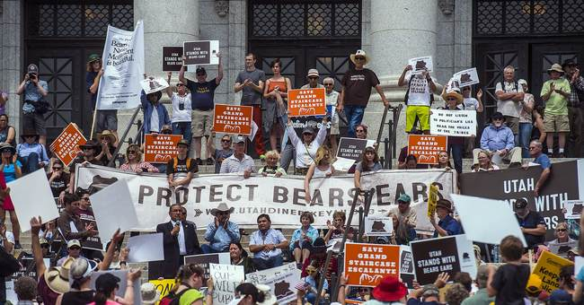 Tribal coalition joins blitz to save national monument areas
