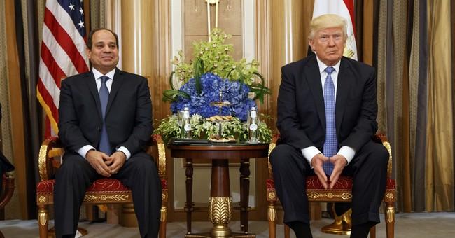 The Latest: Egypt leaders meet US envoy despite aid cuts