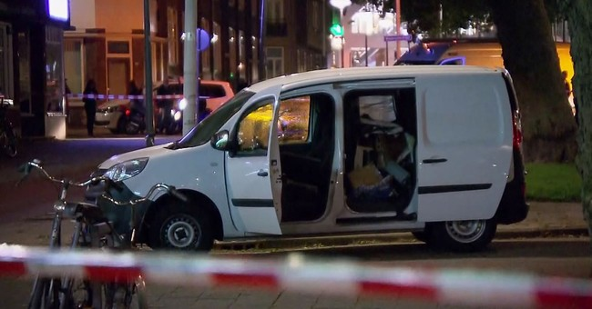 Dutch police detain driver of Spanish van near cancelled gig