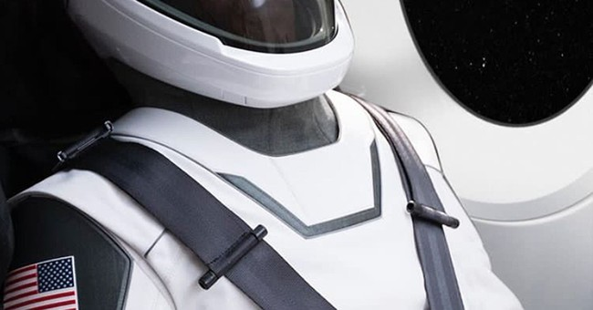 SpaceX unveils sleek, white spacesuit for astronaut travel