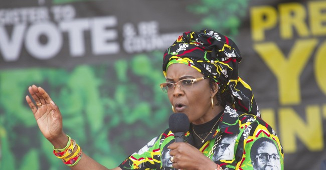 Mugabe's wife makes 1st public appearance after scandal