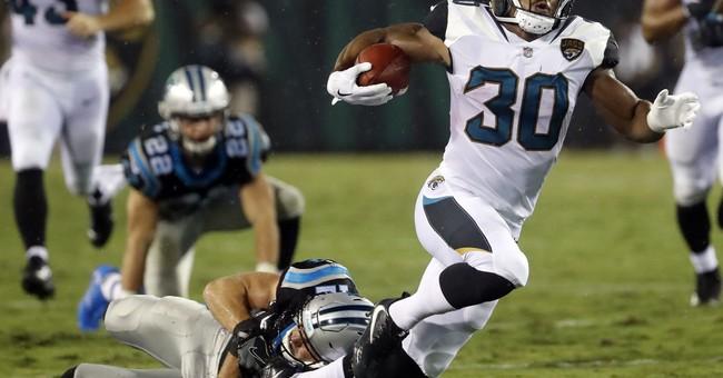 Newton perfect in preseason debut, Panthers edge Jags 24-23