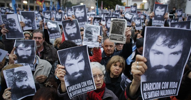 Rights commission urges Argentina to find missing activist