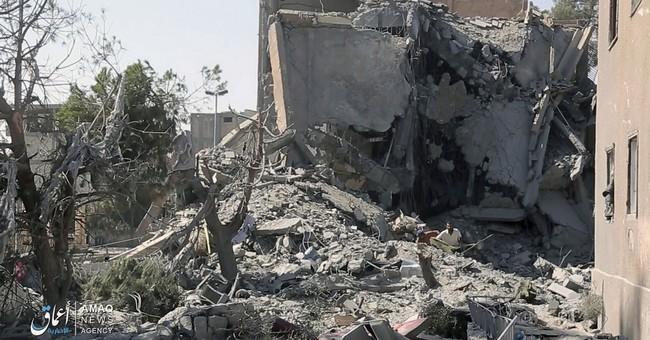 Amnesty slams coalition's reliance on ordnance in Raqqa