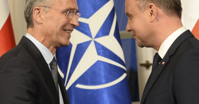 NATO chief says 2 experts to attend Russia-Belarus war games