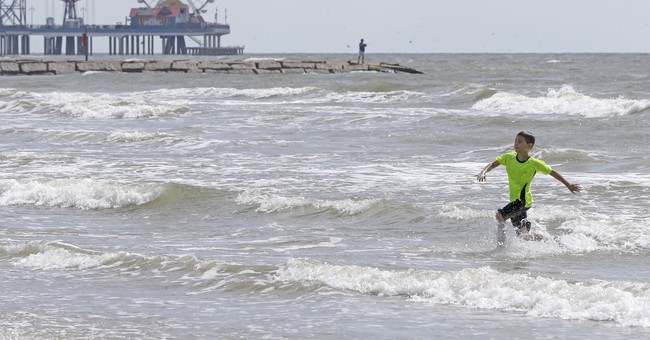Harvey's perfect storm recipe: Warm water, calm air up high