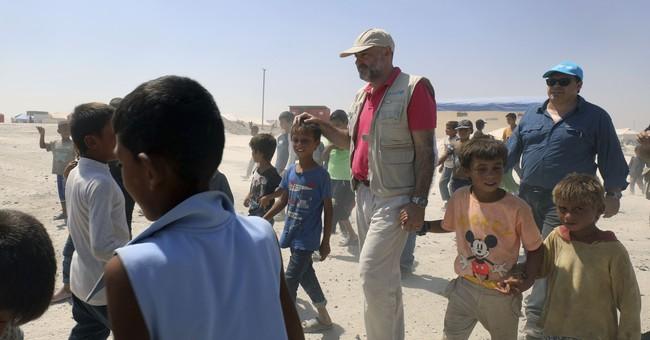 UN official: Half of trapped Raqqa population are children