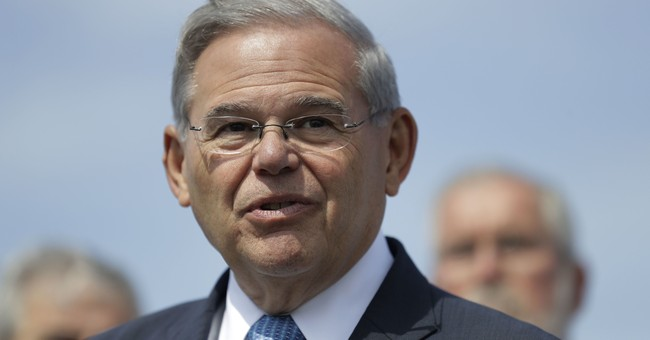 The Latest: Menendez bid to change trial schedule is opposed