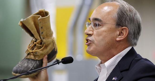 Republican US Rep. Poliquin boasts of press avoidance skills
