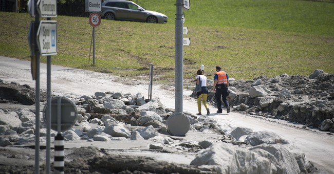 Climate change seen as cause for mudslide in Switzerland