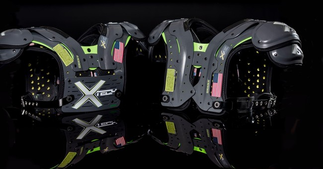 Revolutionary shoulder pads catching on in NFL