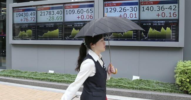 Global stocks edge higher ahead of key Jackson Hole events