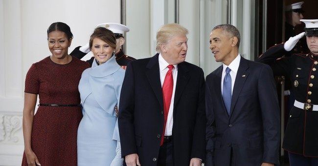 First lady appears to borrow from Michelle Obama's playbook