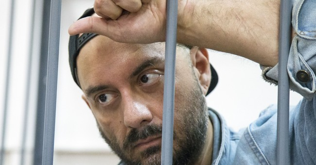 Germans petition for release of Russian theater director