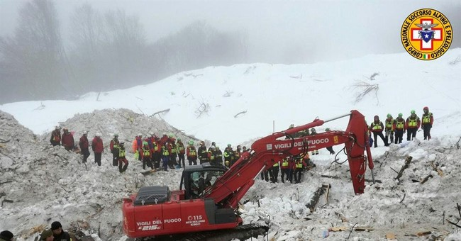 AP Interview: Avalanche survivor thought it was earthquake