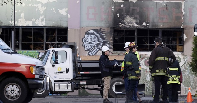 Partner of artist colony leader sorry about deadly blaze