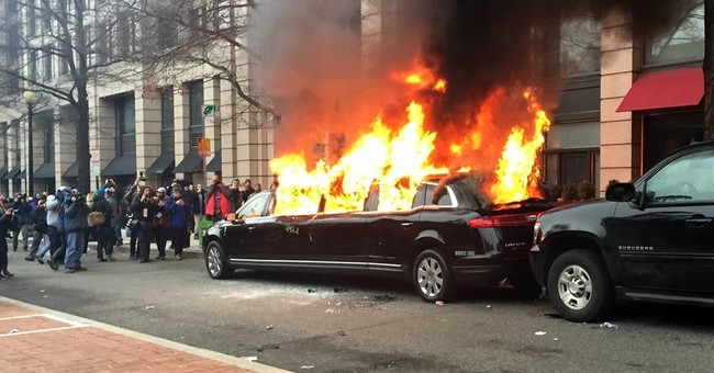 Owner of limo torched in DC says insurance unlikely to pay