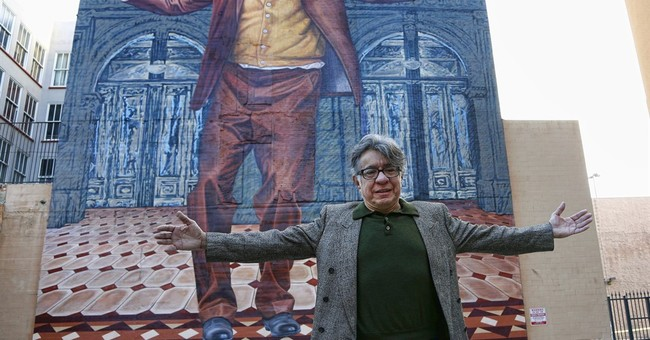 Downtown LA's brilliant, Anthony Quinn mural gets a makeover