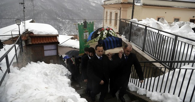 Toll from Italy avalanche climbs to 17 as hopes diminish
