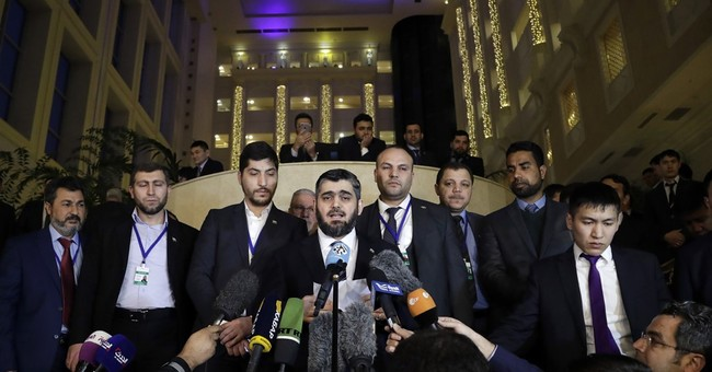 Syria's motley crew of fighters now at negotiating table