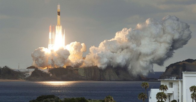 Japan's military launches first communications satellite
