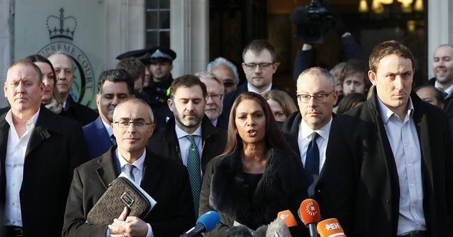 UK police make second arrest over Brexit plaintiff threats