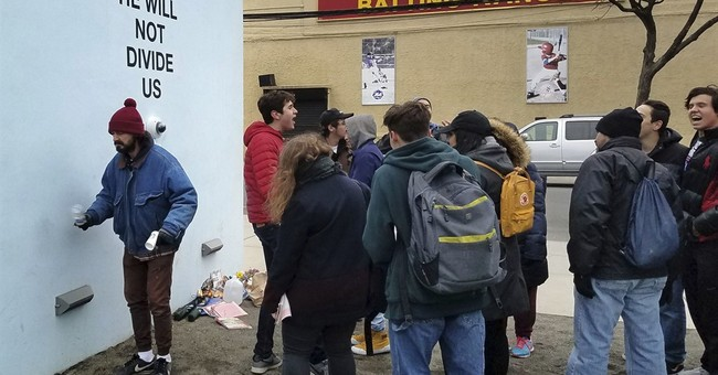 LaBeouf-led livestream says 'He Will Not Divide Us'