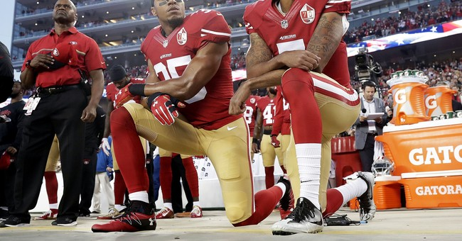49ers' Eric Reid resumes anthem kneel, urges 'change'