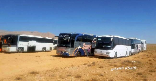 IS militants reach eastern Syria following Lebanon deal