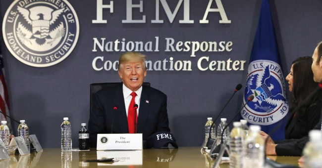 Trump's turn to face tricky politics of natural disasters