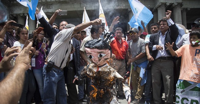 The Latest: Guatemala indigenous protest to back UN official