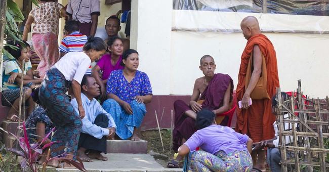 Rohingya refugees storm Bangladeshi border as pushback fails