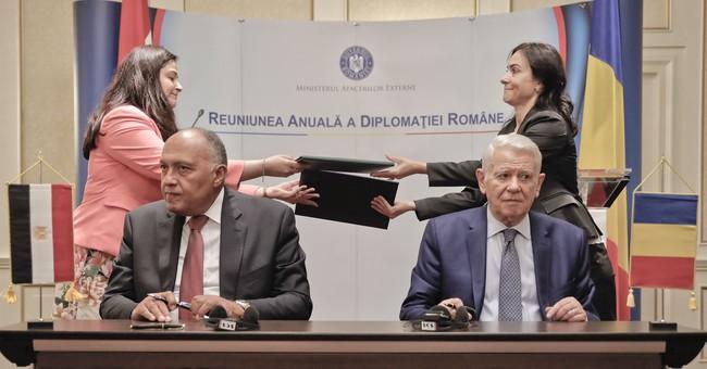 Romanian, Egyptian ministers discuss migration, terrorism