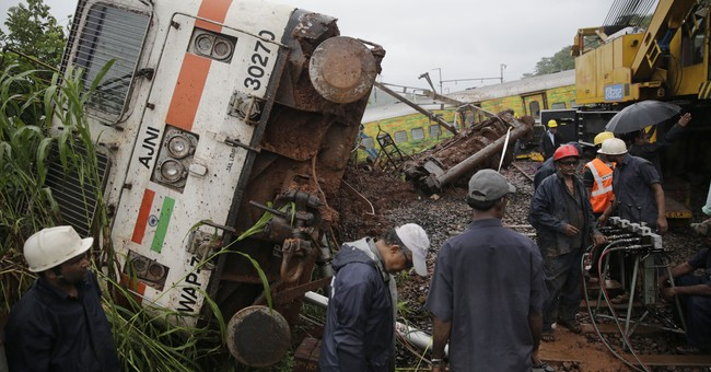 Train derails in India's third rail accident in 10 days