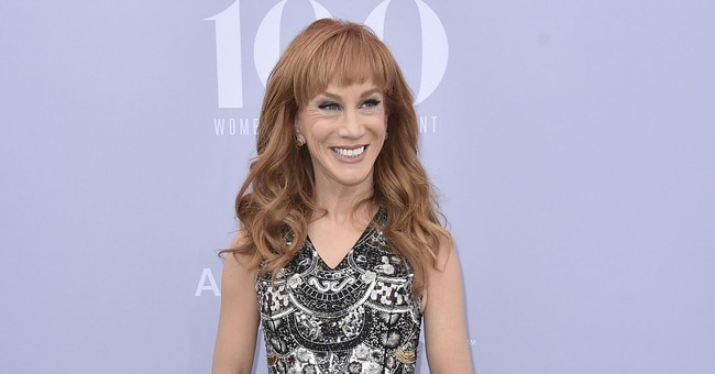 Who's sorry now? Not Kathy Griffin over Trump photo, video