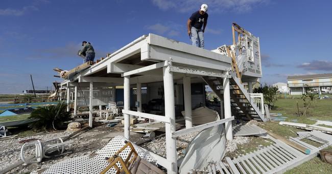 Coastal residents try to recover from Harvey's devastation