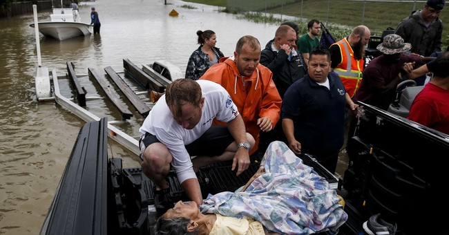 Weather Channel, news networks, go all in on Harvey coverage
