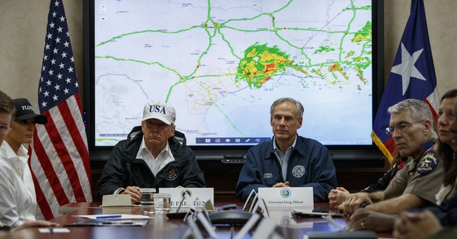 The Latest: First lady says Harvey's effects will last years