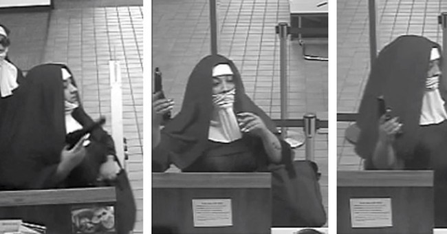 Police: 2 woman dressed as nuns try to rob Pennsylvania bank