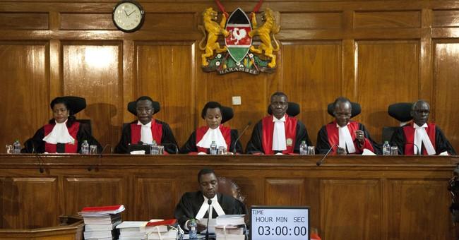 Lawyers make last arguments in Kenya presidential challenge