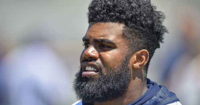 NFL players' union sues over Elliott's 6-game domestic ban