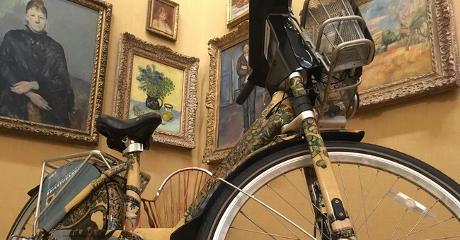 City bike-share program to 'peddle' museum's fine artworks