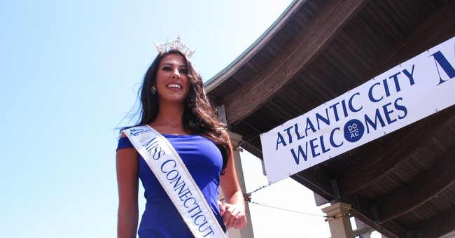 Contestant, a pilot, flies herself to Miss America contest