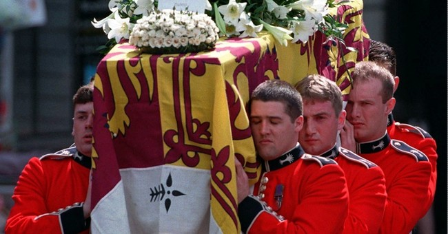 AP Was There: A sea of tears for Princess Diana's funeral