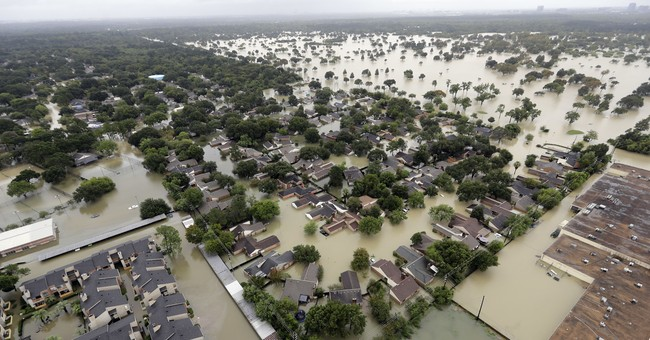 AP Exclusive: Flood insurance policies plunged before Harvey