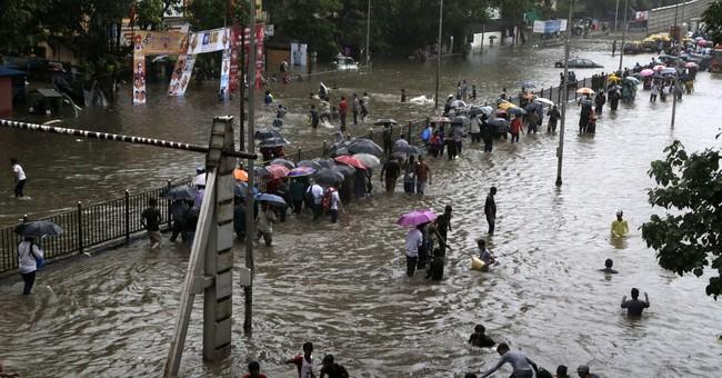 Torrential rains bring India's financial hub to a halt