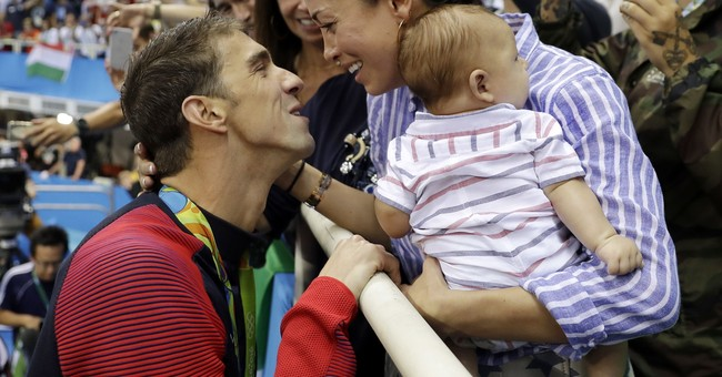 Baby No. 2 on the way for Michael Phelps, wife