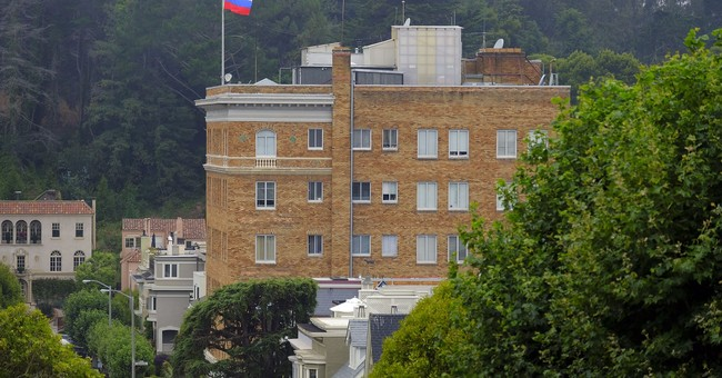 The Latest: US orders Russia to close SF consulate
