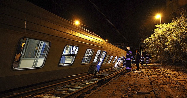 Number of people hurt in train crash in Poland rises to 28